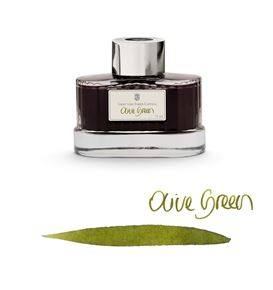 Graf-von-Faber-Castell - Ink bottle Olive Green, 75ml